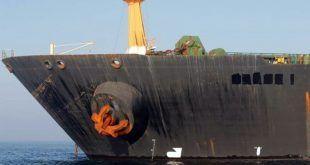 امریکی محکمہ قانون نے پکڑے گئے ایرانی آئل سپر ٹینکر کو قبضے میں لینے کے لیے وارنٹ جاری کردیے۔