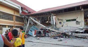 فلپائن 6.4 شدت کا زلزلہ، 4 افراد ہلاک