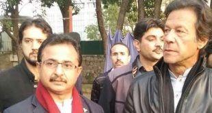 تحریک انصاف کے پارلیمانی رہنما کی گاڑی پر فائرنگ