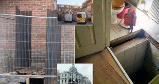 100 سالہ پرانے تھیٹر کے زیر زمین بھنگ کی فیکٹری نکل آئی