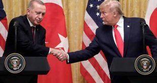 واشنگٹن: امریکی صدر ٹرمپ نے اپنے ترک ہم منصب رجب طیب اردوان کی تعریفوں کے پل باندھ دیے۔