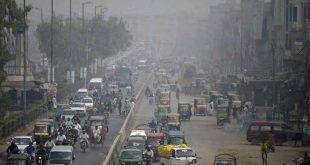فضائی آلودگی کے باعث کراچی آج دنیا کے آلودہ ترین شہروں میں چوتھے نمبر پر آگیا۔