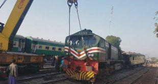 کراچی سے چلنے والی ایک اور ٹرین حادثے کا شکار