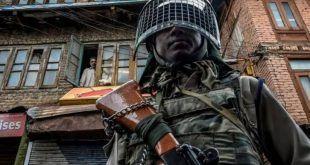 مقبوضہ کشمیر :بھارتی فوجی محاصرے کا مسلسل 107 واں دن