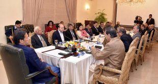 وزیراعظم سے حال ہی میں ترقی پانے والے وفاقی سیکریٹریز کی ملاقات