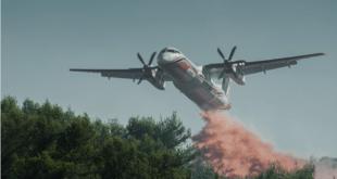 آسٹریلیا کے جنگلات میں آگ بجھانے والے فائر فائٹنگ طیارے کی وجہ سے سب کے دل دہل گئے