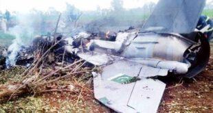 پاک فضائیہ کا طیارہ گرکر تباہ.....پائلٹ نے کیسے جان بچائی پڑھئے اس خبر میں