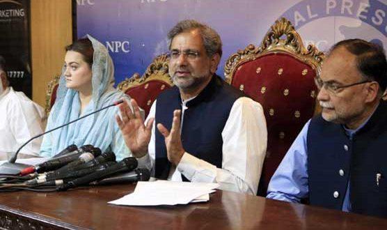 حکومتی اقدامات ناکافی، کرونا وائرس تیزی سے پھیل رہا ہے: شاہد خاقان عباسی