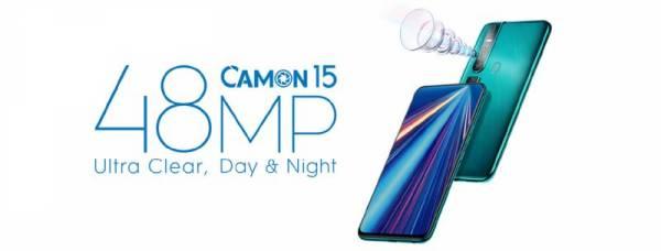 """ٹیکنو موبائل """"Camon 15 """" کے نام سے نیا سمارٹ فونز متعارف کرائے گا"""