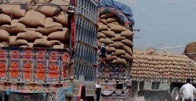 پنجاب گندم لانیوالی گاڑیوں کو سندھ میں روک لیا گیا