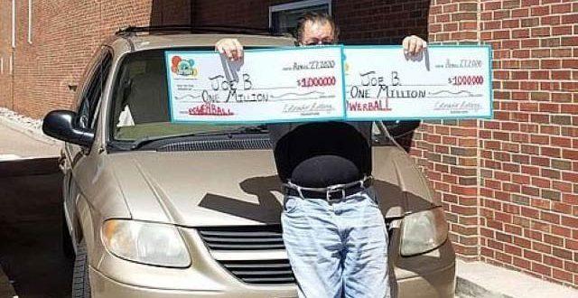 امریکی شخص نے ایک ہی دن میں دس لاکھ ڈالرکی لاٹری دو مرتبہ جیت لی