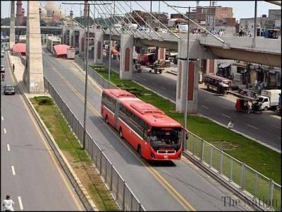 جڑواں شہروں میں میٹرو بس سروس بحال