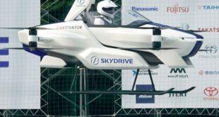 جاپانی کمپنی کا فضا میں اُڑنے والی کار کا کامیاب تجربہ