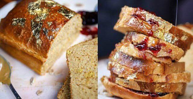سونے کے ذرات والا دنیا کا مہنگا ترین میٹھا سینڈوچ
