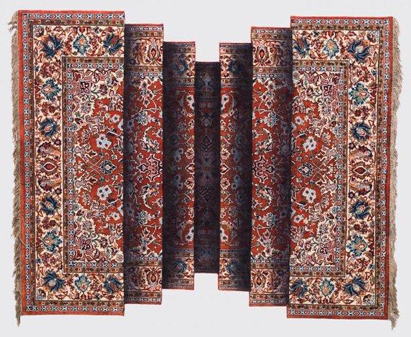 آذربائیجان کے فنکار کے تیاکردہ پگھلتے ہوئے قالین