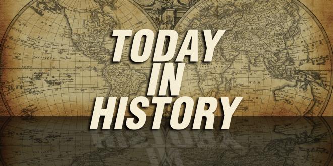 آج کے دن دنیا میں کیا کیا اہم واقعات پیش آئے ؟؟