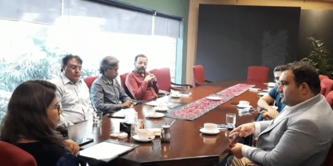 ترکش کلچرل سنٹر کے وفد کا الحمرا آرٹ کونسل کا دورہ، باہمی امور پر تبادلہ خیال
