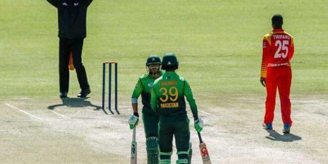پاکستان اور زمبابوے کے درمیان ٹاکرا-پاکستان نے ٹاس جیت کرپہلے کھیلنے کا  فیصلہ کرلیا-