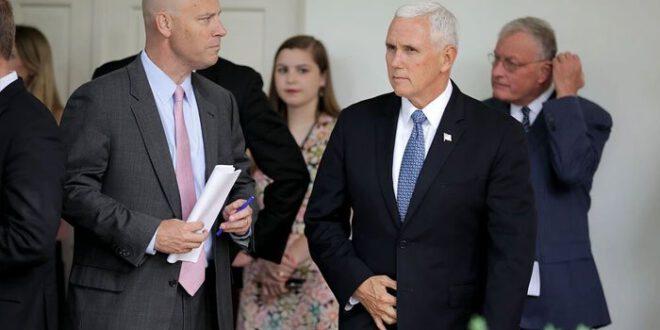 امریکی نائب صدر مائیک پینس کے چیف آف اسٹاف بھی کورونا کا شکار