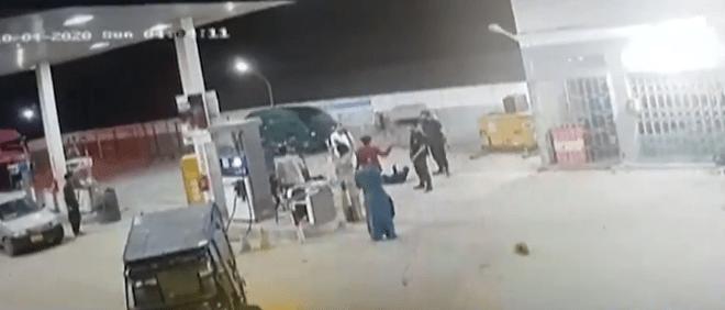 کراچی: پولیس کی وردی پہنے ڈاکوؤں نے پیٹرول پمپ لوٹ لیا