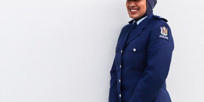 نیوزی لینڈ میں حجاب کو پولیس یونیفارم کا حصہ بنا دیا گیا