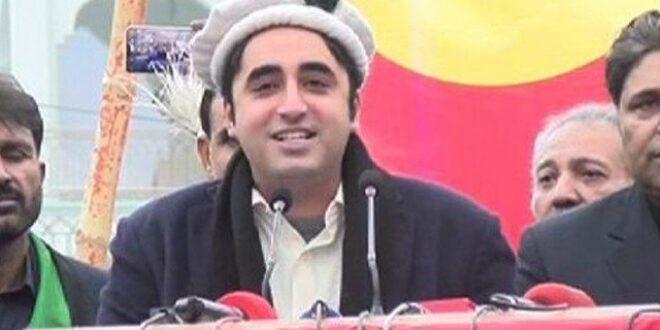 اسلام آباد میں بیٹھی حکومت جنوری تک مہمان ہے، بلاول بھٹو زرداری