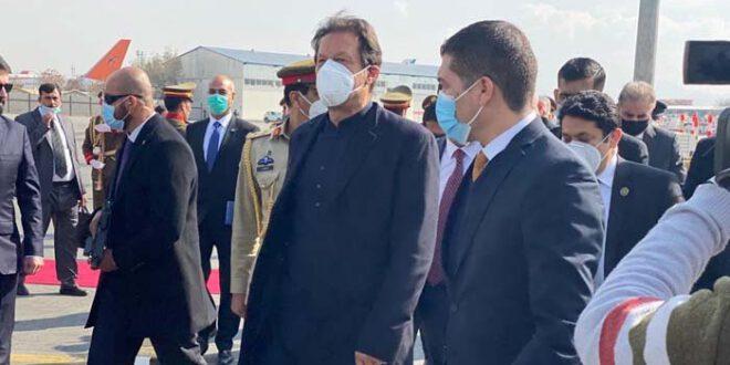 وزیراعظم عمران خان ایک روزہ دورے پر کابل پہنچ گئے