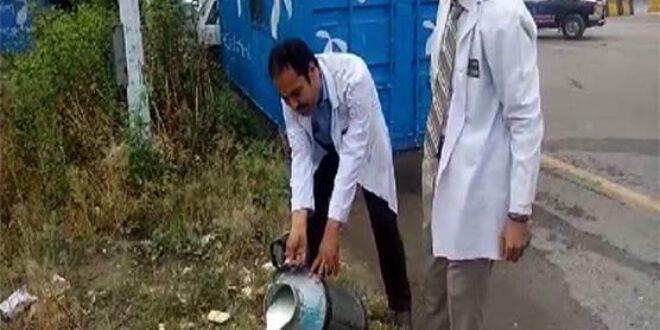 پنجاب فوڈ اتھارٹی کی کارروائی،30ہزار300لیٹرمضر صحت دودھ تلف کردیا