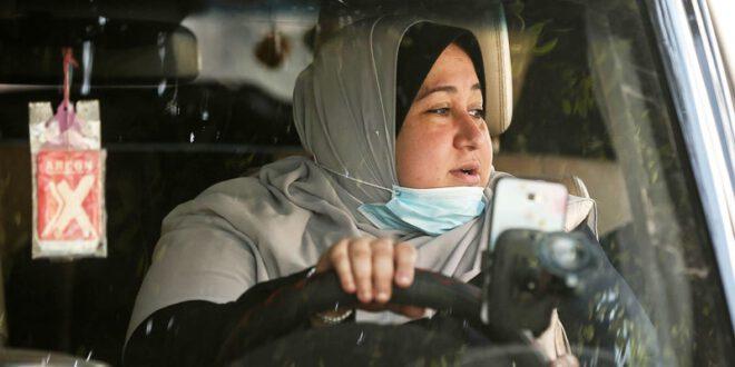 فلسطین کی پہلی خاتون ٹیکسی ڈرائیور کے چرچے