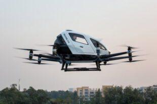 جنوبی کوریا میں بھی ڈرون ٹیکسی کی کامیاب پروازیں
