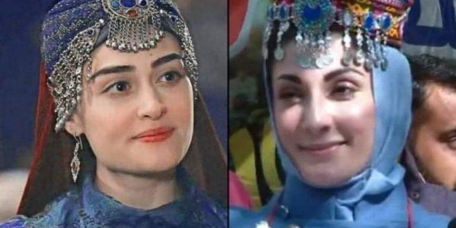 گلگت بلتستان، مریم نواز حلیمہ سلطان کے روپ میں نظر آئیں
