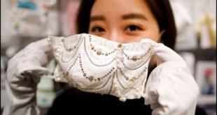 کورونا سے بچاؤ کےلیے مہنگا ماسک، قیمت 15 لاکھ روپے!