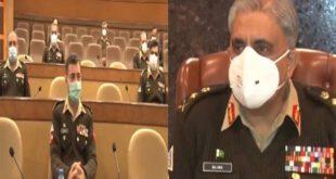 آرمی چیف کی زیر صدارت کور کمانڈرز کانفرنس، پاکستان کو غیر مستحکم کرنے کی سازشوں پر اظہار تشویش