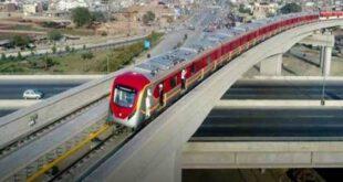 اورنج لائن میٹرو ٹرین کروڑوں روپے کی بجلی کھا گئی